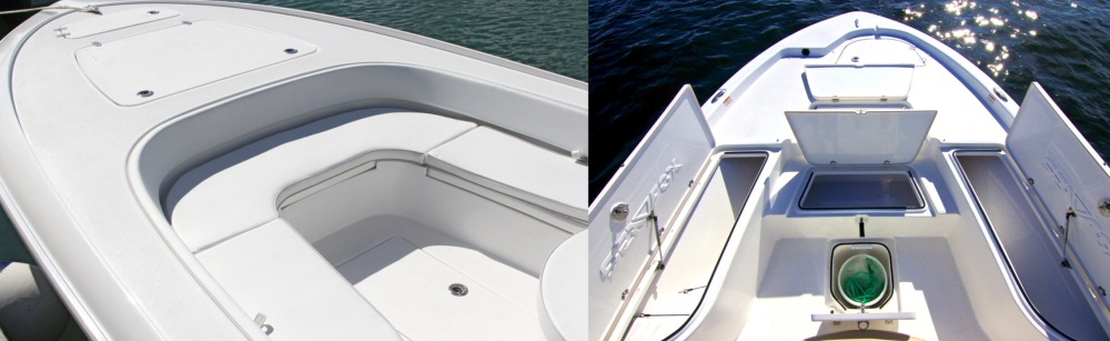 Boat Bow Features Contender SeaFox