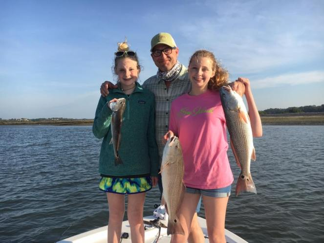 Family with Redfish
