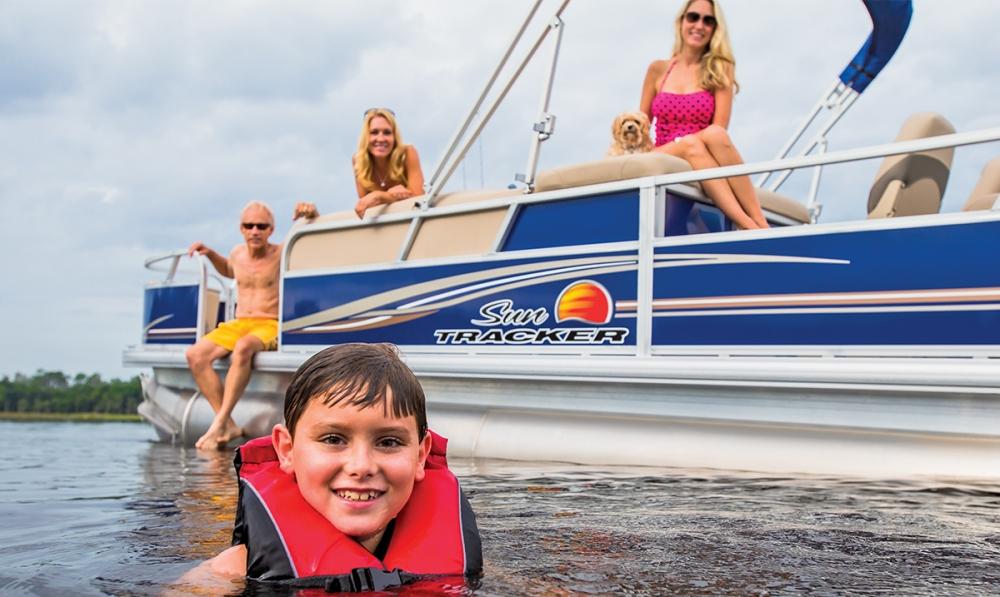 Pontoon Boat Fun