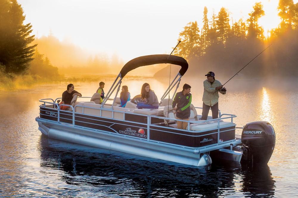 Sun Tracker Fishing Pontoon Boats